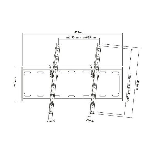 Zidni stalak SBOX za TV PLB-3446T
