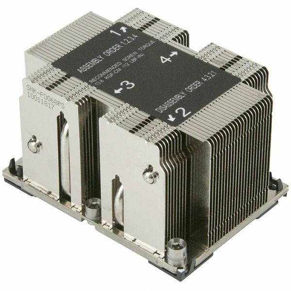 2U Passive CPU Heat Sink for LGA 3647