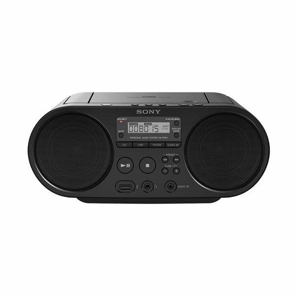 Sony ZS-PS50, CD Boombox, USB, crni