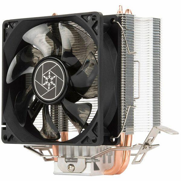 SilverStone SST-KR02 Kryton CPU Cooler, Silent hydraulic bearing 92mm fan, Intel LGA 775/115x/1200/1366 AMD Socket AM4/AM3/AM2/FM2/FM1