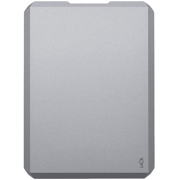 LaCie HDD External USB 3.0 Drive (2.5/2TB/ USB 3.0) Moon Silver