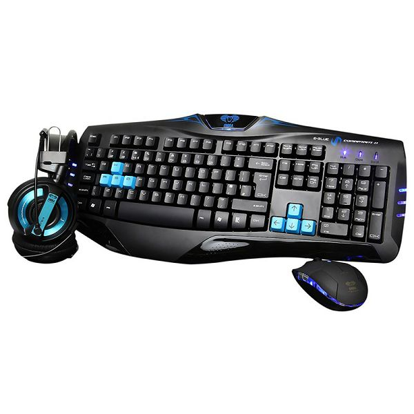 Gaming set E-BLUE COBRA PRO GAMING COMBO 3-in-1