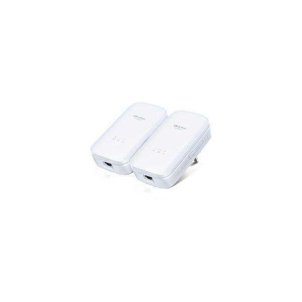 TP-Link AV1300 Powerline Gigabit mrežni adapter, 1300Mbps, 1×Gigbit mrežni ulaz, 2×2 MIMO, HomePlug AV2 (duplo pakiranje)