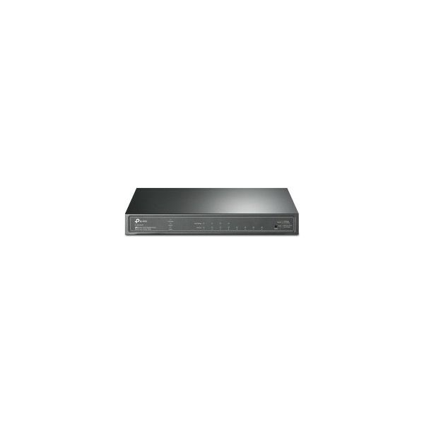 TP-Link JetStream 8-port Gigabit Smart PoE+ preklopnik (Switch), 8×10/100/1000M RJ45 ports, 4×PoE+ ports (64W)
