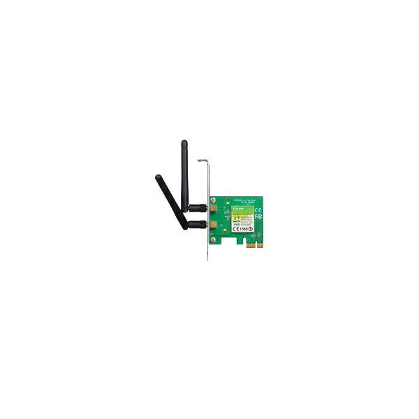 TP-Link Bežični PCIe Adapter 300Mbps (2.4GHz), 802.11n,g,b, 2× odvojiva antena