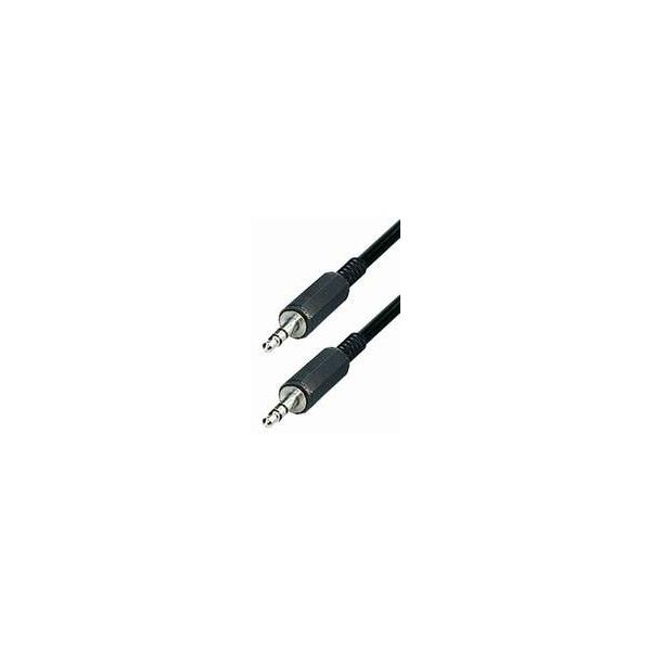 Transmedia A52-L Connector Kabel 3,5 mm Stereo-plug -