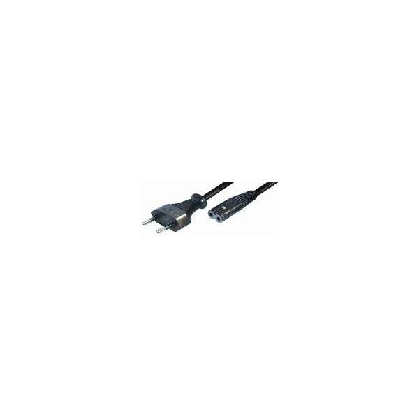 Transmedia N1-3L Kabel za struju Euro plug - Double slot