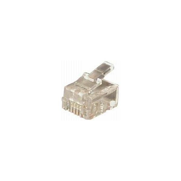 Transmedia TS13-RL Western 6 4-konektor