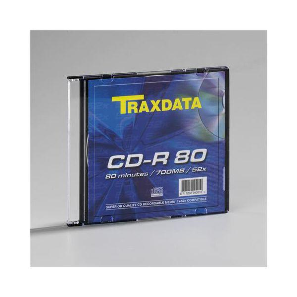 TRAXDATA OPTIČKI MEDIJ CD-R SLIM BOX 1