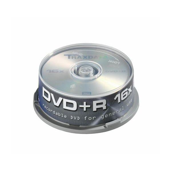 TRAXDATA OPTIČKI MEDIJ DVD+R 16X CAKE 25