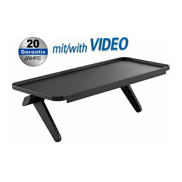 Transmedia Kickstand-Style TV Shelf