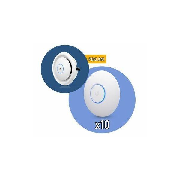 Ubiquiti UAP nanoHD x 10 AC-EDU na poklon