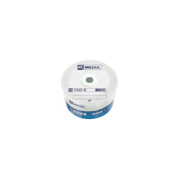 DVD-R MyMedia 4.7GB 16× Matt Silver, Wrap pakiranje 50 kom.