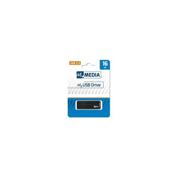 MyMedia USB2.0 16GB, crni