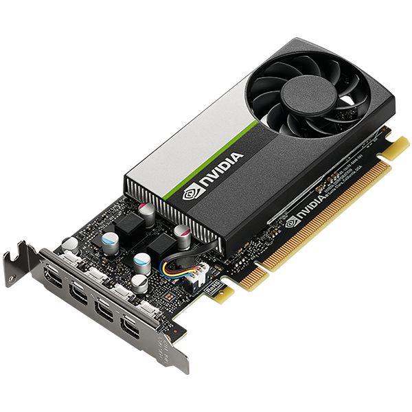 PNY NVIDIA GPU VCNT1000-SB 4GB GDDR6 128bit, 2.5 TFLOPS, PCIE 4.x16, 4x mDP, LP sinle slot, 1 fan