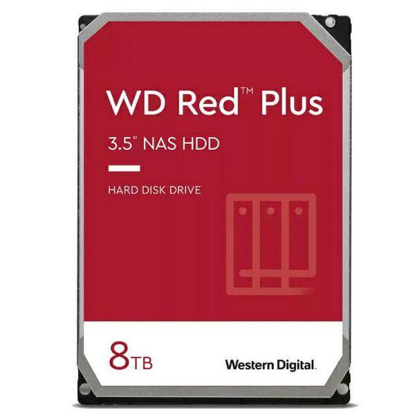 Western Digital Red Plus 8TB, 3,5