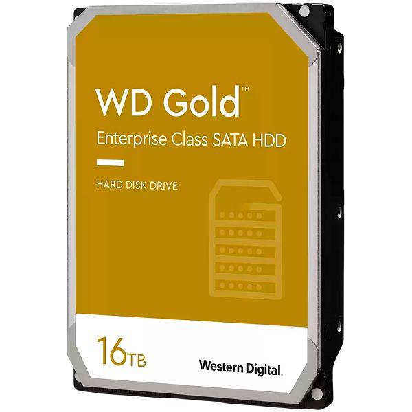 HDD Server WD Gold (3.5, 16TB, 512MB, 7200 RPM, SATA 6 Gb/s)