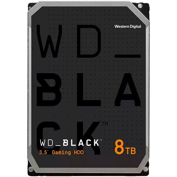 HDD Desktop WD Black (3.5, 8TB, 256MB, 7200 RPM, SATA 6 Gb/s)