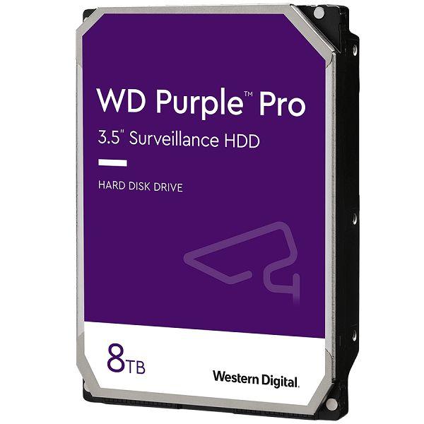 HDD AV WD Purple Pro (3.5, 8TB, 256MB, 7200 RPM, SATA 6 Gb/s)