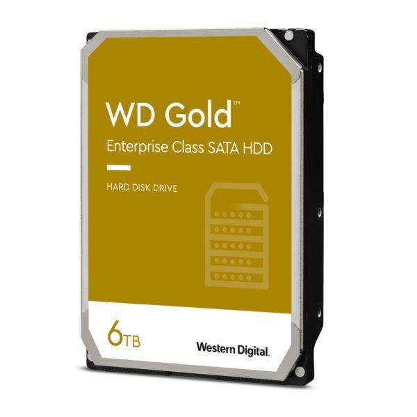 Western Digital HDD, 6TB, 7200, WD Gold