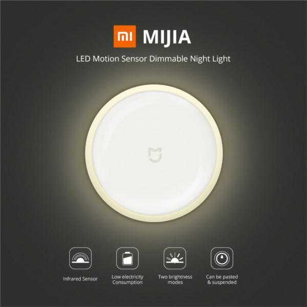 Xiaomi Mi Motion-Activated Night Light 2, MJYD02YL