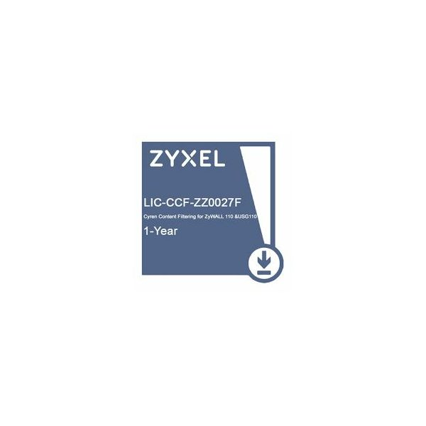 Zyxel E-iCard 1-year Cyren Content filtering for ZYWALL 110 USG110
